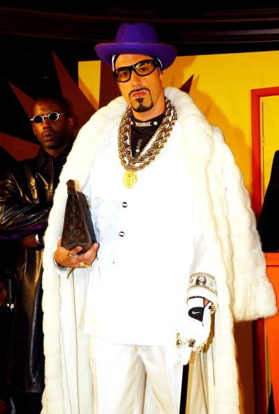 Ali G at MTV Europe Music Awards Press Conference