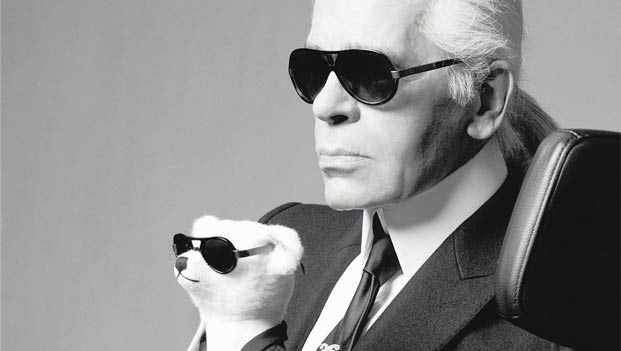 Make like Karl and add UV protection to your prescription.