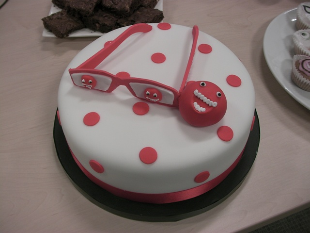 Red Nose Cake Images : Happy Belated Birthday --- Eyebike (25th) and Hackier ...