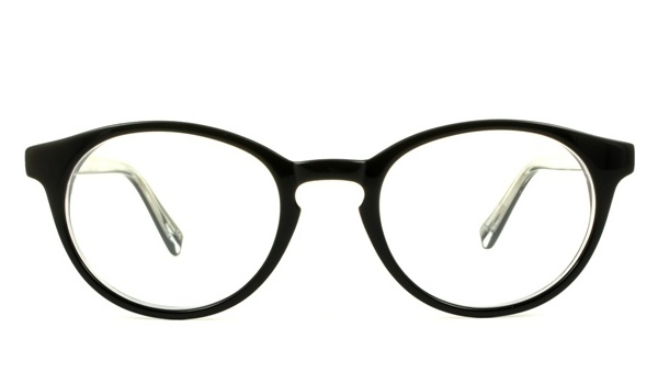 Fitzrovia frame in black crystal