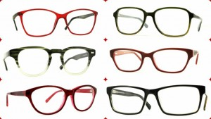 Red and green frames