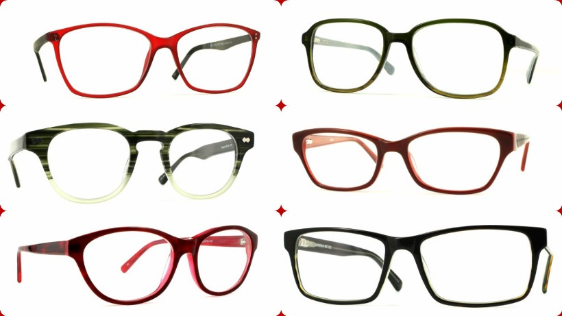 This Christmas Selection: Red and Green Frames