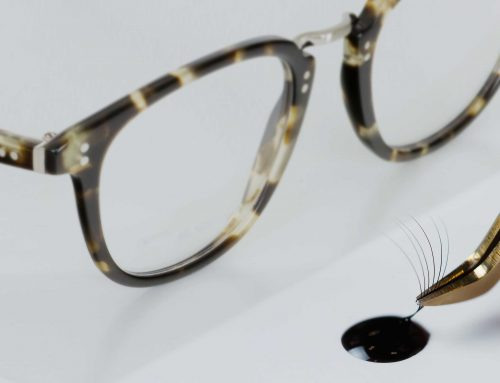 Can I wear eyelash extensions with glasses? How you can, and why you should!