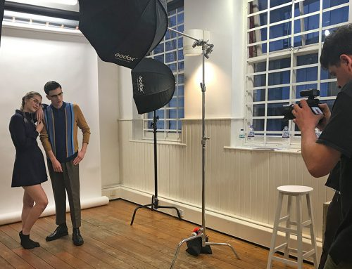 Behind the Scenes at Glasses Direct: London Retro Photoshoot